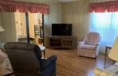 Living Room, lanai to left through sliding doors