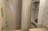 Guest Bath, neutral decor
