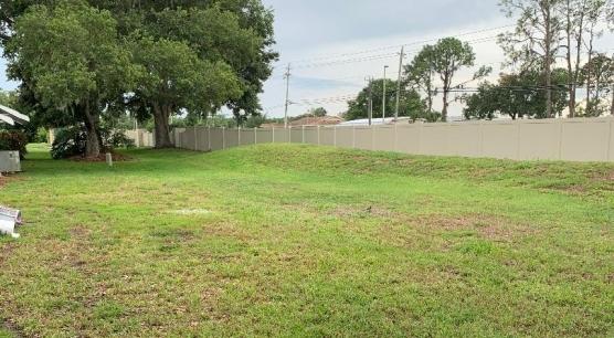 Rear Yard Left